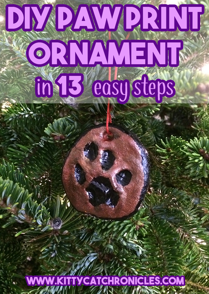 DIY Paw Print Ornament: in 13 Easy Steps