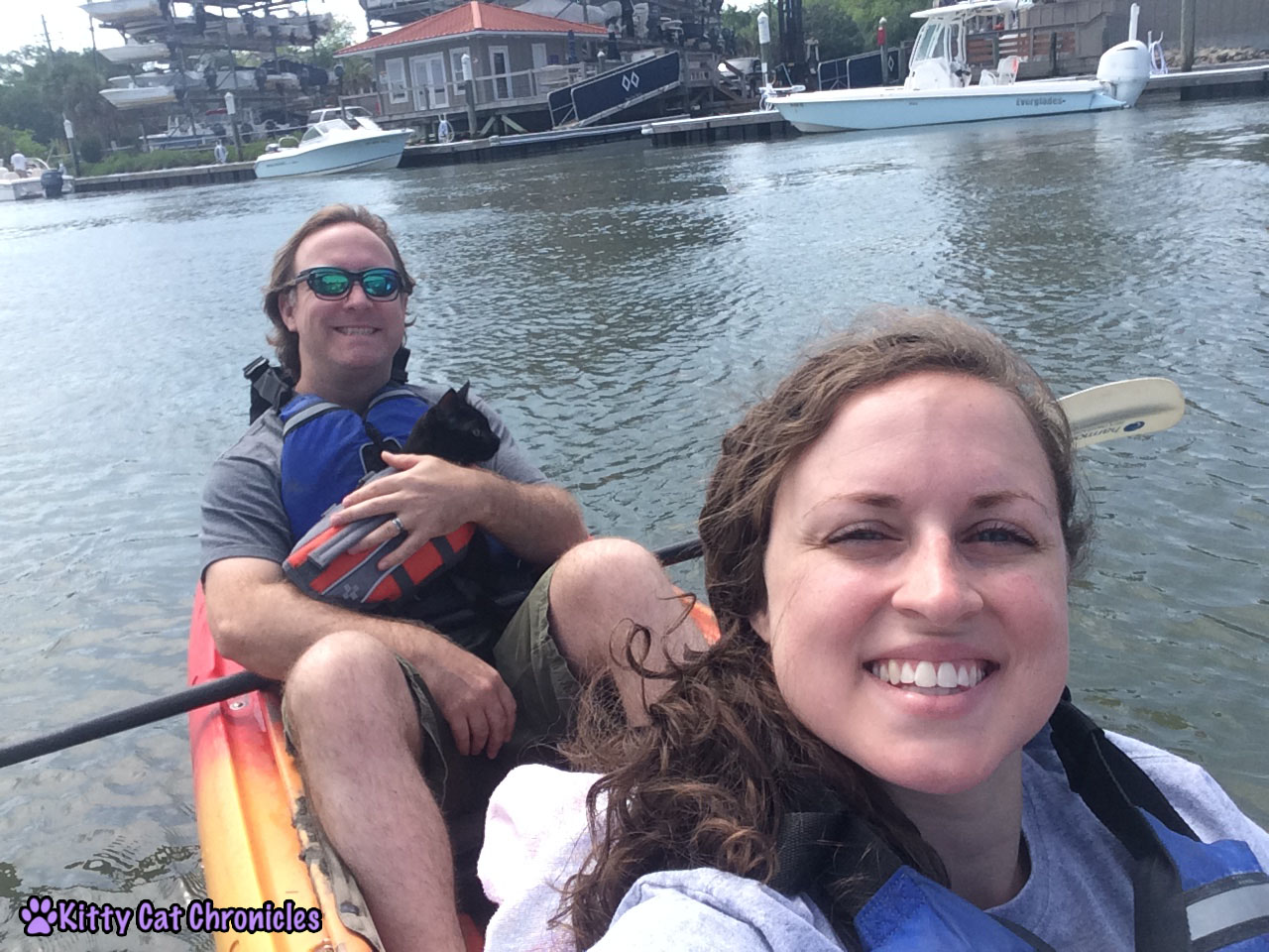 Charleston Adventure Teasers: Kylo Ren, cat kayaking